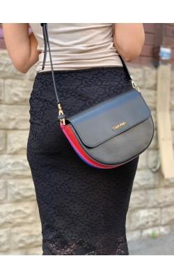 "Черная сумочка кроссбоди ""Kari"" Calvin Klein"