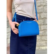 Синяя сумочка из сафьяновой кожи  Marc Jacobs