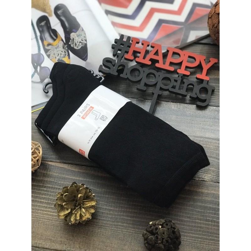 Черные носки в наборе Uniqlo