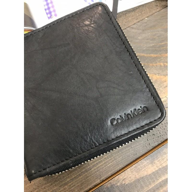 Мужской кошелек из натуральной кожи Calvin Klein