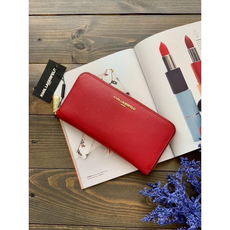 Красный кошелек Karl Lagerfeld Paris