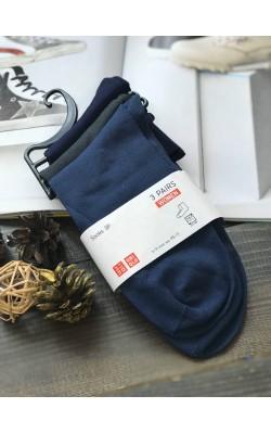 Носки в наборе 3 пары Uniqlo