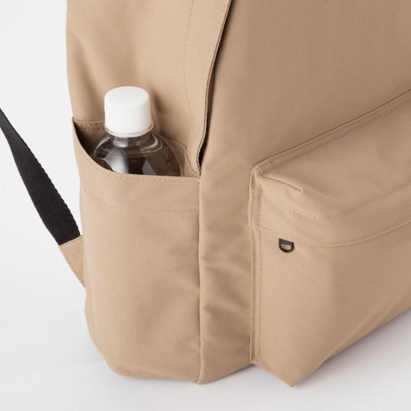 Оранжевый текстильный рюкзак Uniqlo