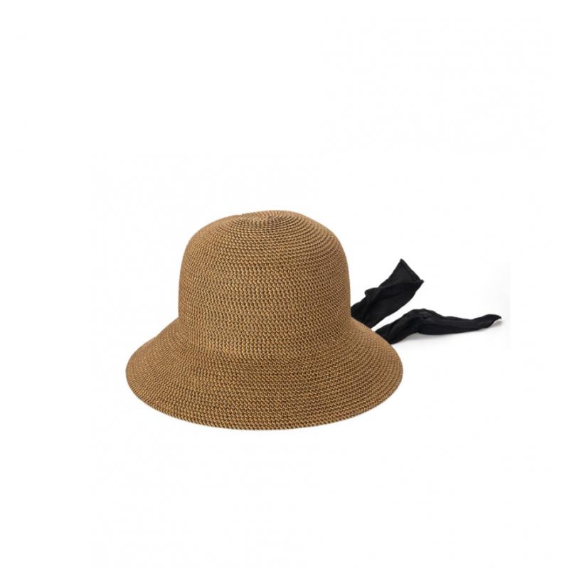 Соломенная шляпа SAN DIEGO HAT с завязками