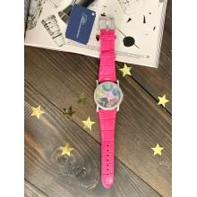 Часы Вlumarine розовые с камнями