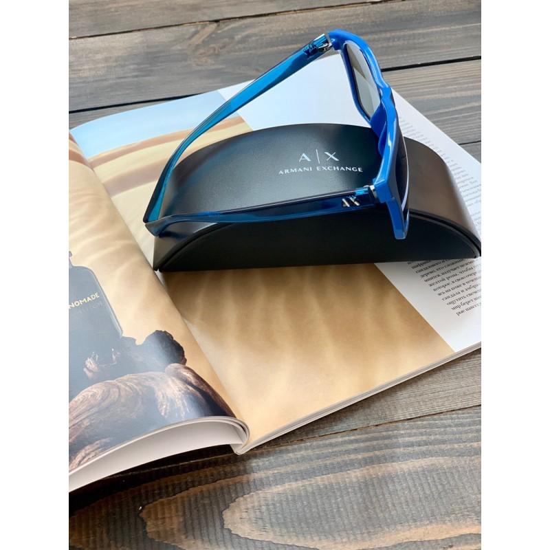 Солнцезащитные очки Armani Exchangе синие матовые