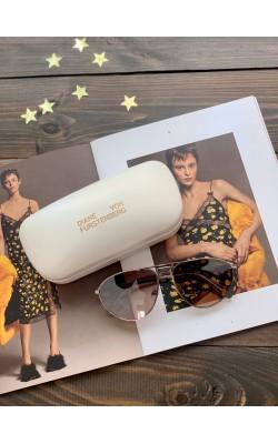 Солнцезащитные очки Diane von Furstenberg авиаторы