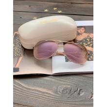 Солнцезащитные очки Diane von Furstenberg золотые
