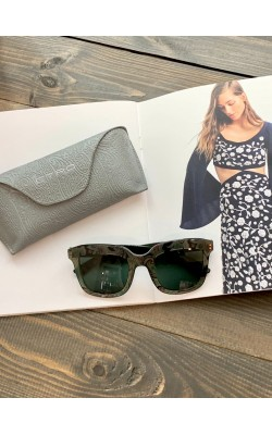 Солнцезащитные очки Etro темно-зеленые