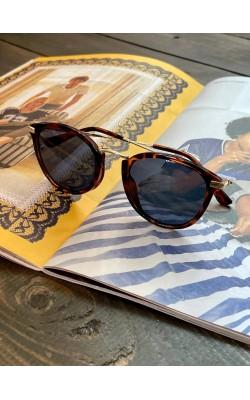 Солнцезащитные очки Uniqlo коричневые