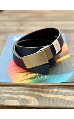 Ремень Calvin Klein темно-синий двухсторонний