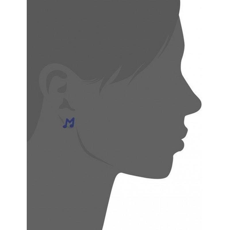 "Сережки ""ноты"" Marc By Marc Jacobs"