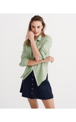 Зеленая рубашка Abercrombie & Fitch