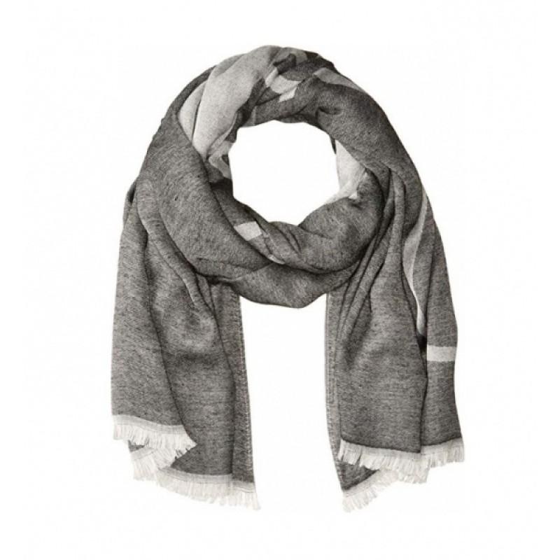 Cерый шарф Calvin Klein