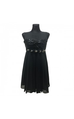 Черное платье Love Sex Money