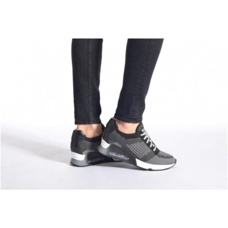 Cерые текстильные кроссовки ASH
