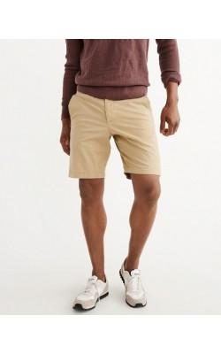 Светло-коричневые шорты Abercrombie & Fitch