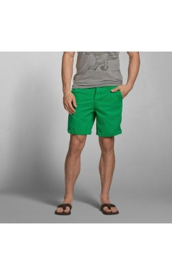 "Зеленые шорты ""Preppy Fit""  Abercrombie&Fitch"