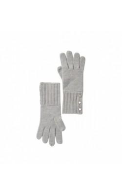 Серые перчатки Michael Kors