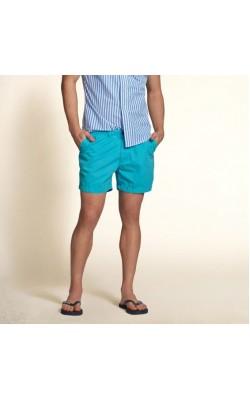 Голубые шорты Hollister