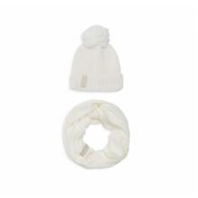 Белый комплект снуд + шапка Calvin Klein