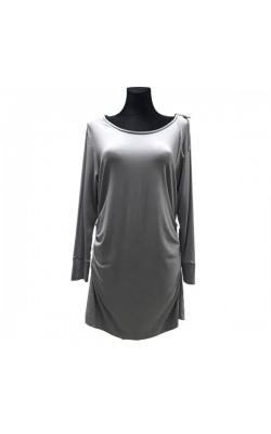 Светло-серое платье-туника PRZHONSKAYA