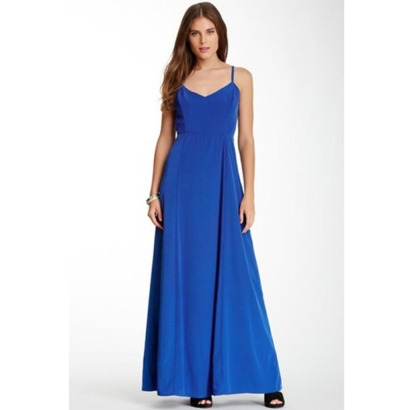 Синее макси-платье BB Dakota