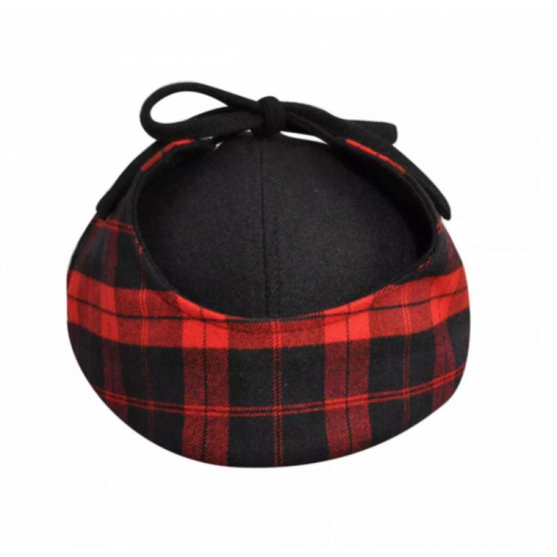 Красная шерстяная кепка Kangol