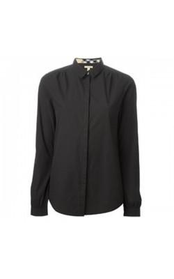 Черная рубашка Burberry Brit