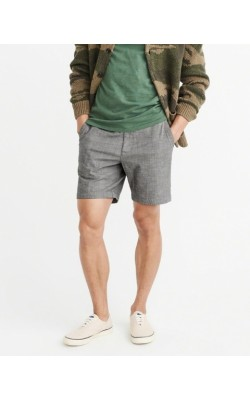 Серые шорты Abercrombie & Fitch