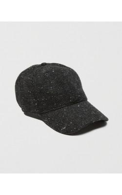 Серая шерстяная кепка Abercrombie & Fitch