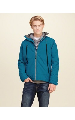 "Голубая куртка Hollister ""all-weather"""