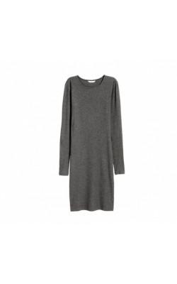 Серое платье H&M
