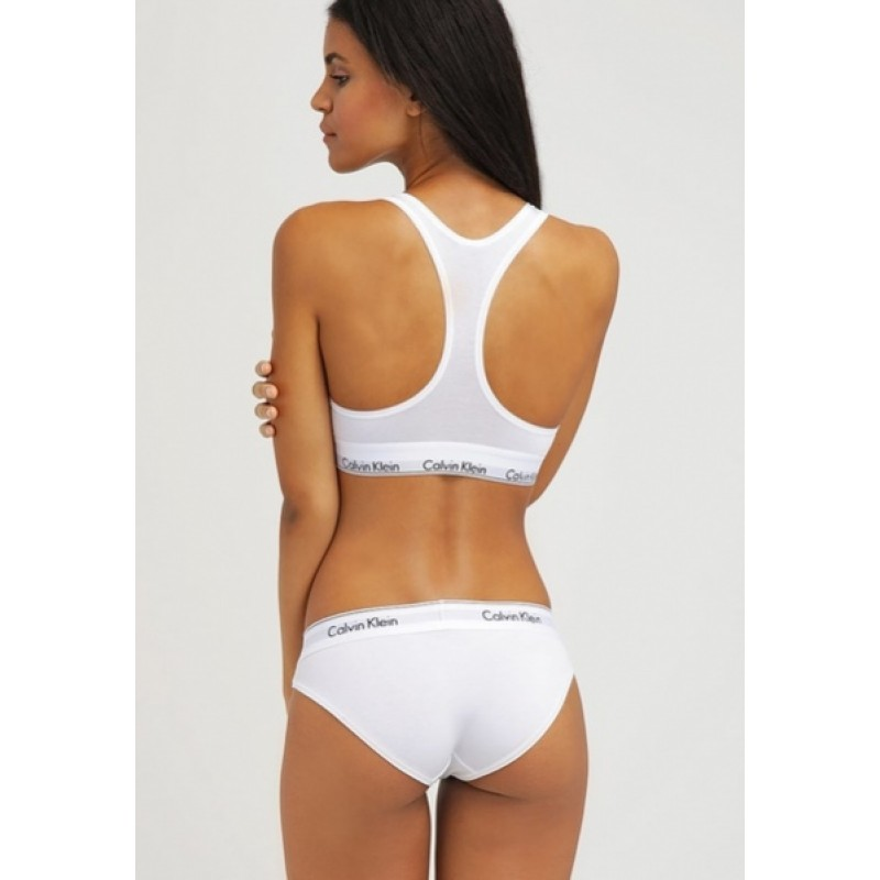 Белый комплект (бикини) Calvin Klein