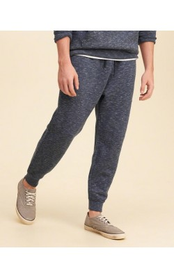 Cиние спортивные штаны Hollister