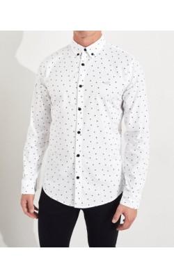 Белая  рубашка Hollister