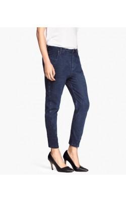 Зауженые синие джинсы H&M