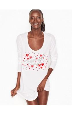 Белая ночная рубашка Victoria's Secret