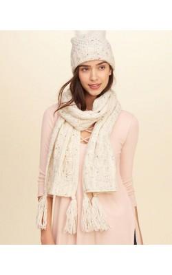 Светлый шарф Hollister