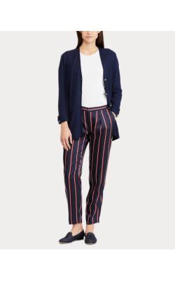 Темно-синие брюки в полоску Ralph Lauren