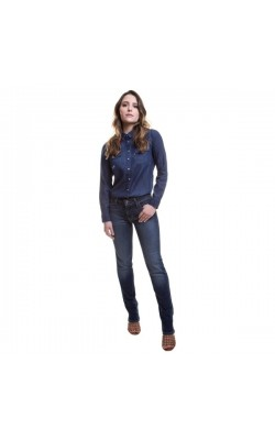 Синие прямые джинсы Levi's