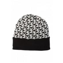 Черная шапка с логотипом  Michael Kors
