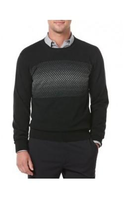 Черный свитер Perry Ellis