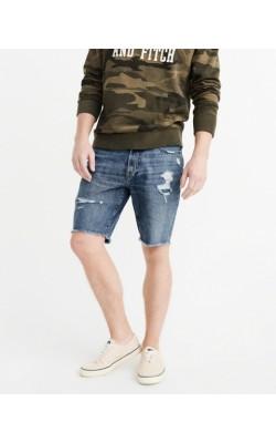Джинсовые шорты  Abercrombie & Fitch