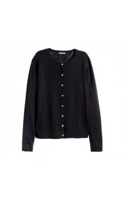 Черная шерстяная кофта H&M