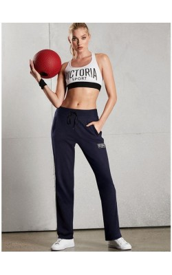 Темно-синие спортивные штаны Victoria's Secret