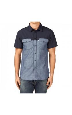 Синяя рубашка Aigle