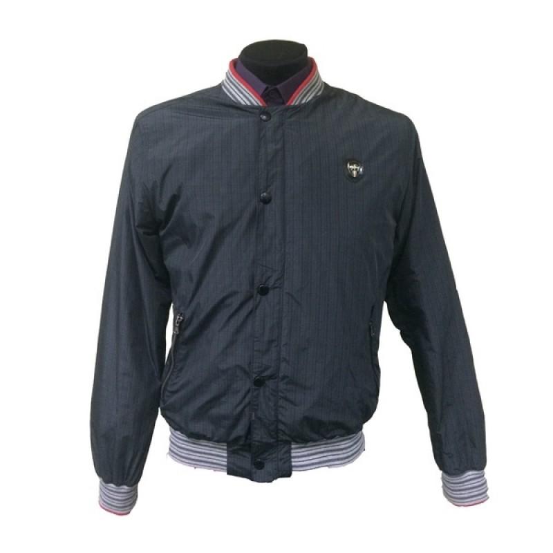 Темно-серая куртка-ветровка Mondo