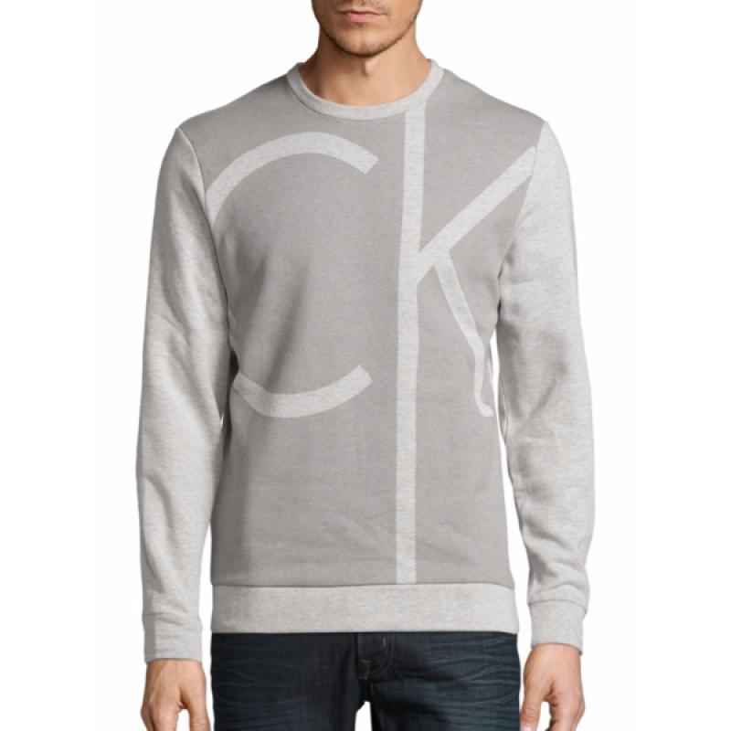 Серый свитшот Calvin Klein