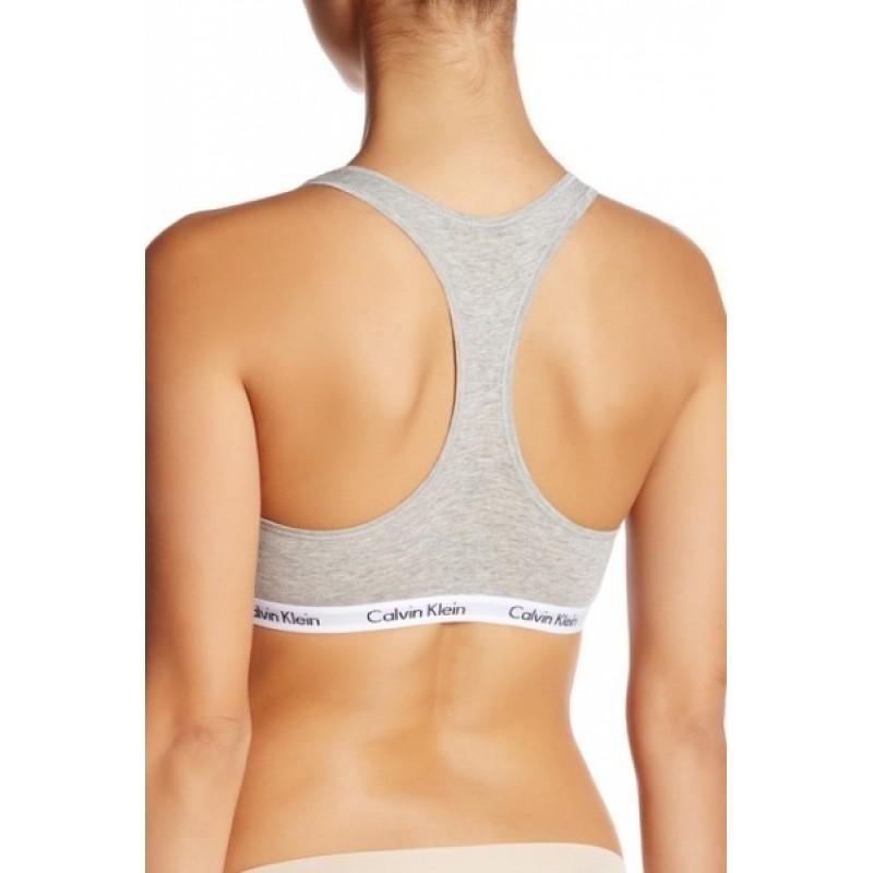 Серый комплект нижнего белья Calvin Klein